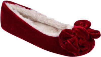 Ruby + Ed Berry Velvet Bow Ballerina Size 8