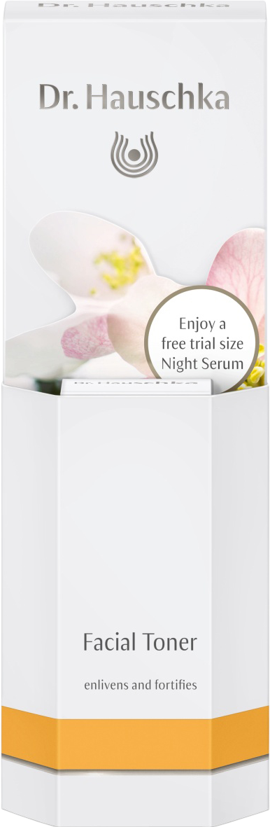 Oils & Aromatherapy Dr. Hauschka Facial Toner 100ml & 2.5ml Night Serum