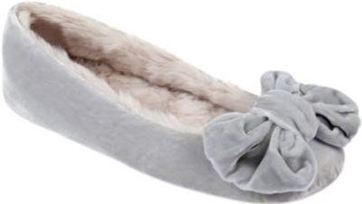 Ruby + Ed Dew Velvet Bow Ballerina Size 5