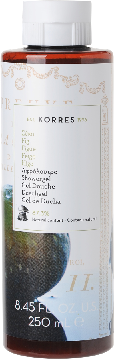 Bath & Unwind Korres Fig Showergel 250ml